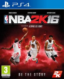 NBA 2K16 03 08 2015 jaquette officielle