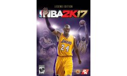 NBA 2K17 Legend Edition jaquette cover art Kobe Bryant