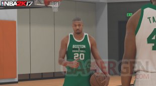 NBA 2K17 Michal B Jordan image screenshot 1