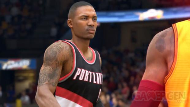 NBA Live 15 Damian Lillard Different Game trailer