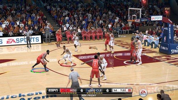 NBA LIVE 15 gameplay