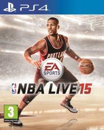 NBA Live 15 jaquette PEGI PS4