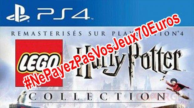 Ne Payez pas vos jeux 70 euros lego harry potter collection
