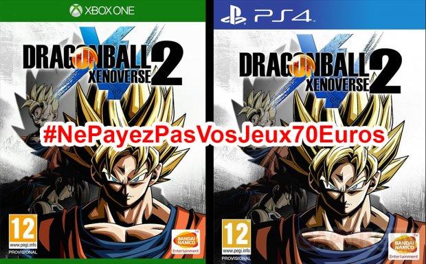 Ne Payez pas vos jeux 70 eurosDragon Ball Xenoverse 2