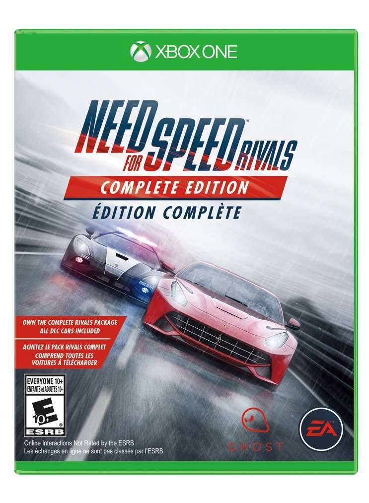 image need for speed rivals complete edition jaquette boxart cover xbox one gamergen com. Black Bedroom Furniture Sets. Home Design Ideas