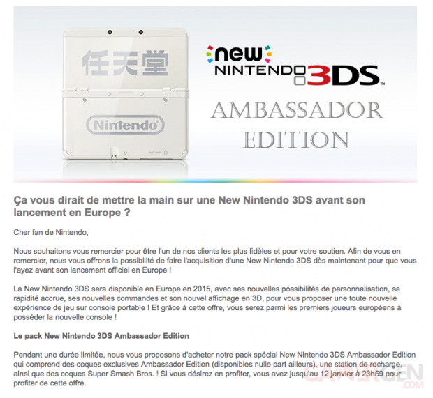 New 3DS Ambassador Edition 2