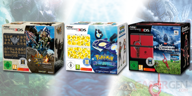 New 3DS pack bundle