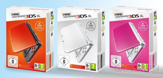 New 3DS XL Coloris Europe image