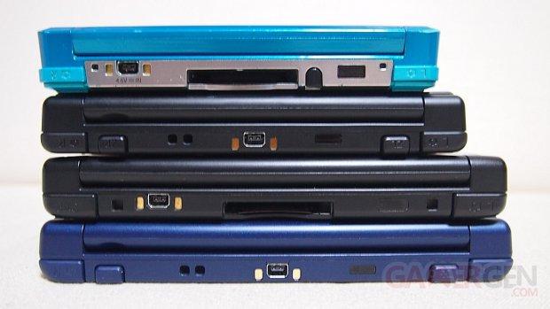 New Nintendo 3DS XL, 3DS, 3DS XL, NEW 3DS comparaison photo 11.10.2014  (14)