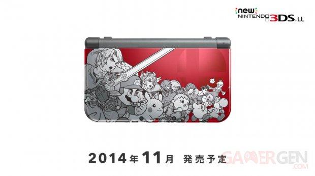 New Nintendo 3DS XL Super Smash Bros