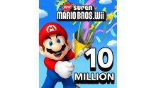 New Super Mario Bros Wii 10 millions