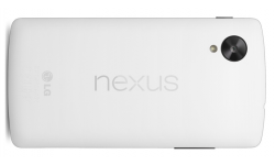 Nexus 5 rendu blanc head