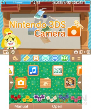 Nintendo 3DS menu personnalisable Home 1