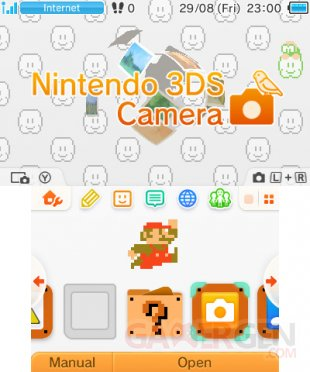 Nintendo 3DS menu personnalisable Home 2