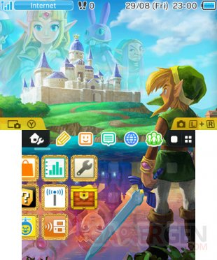 Nintendo 3DS menu personnalisable Home 4