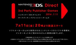 Nintendo 3DS Nintendo Direct 11 07 2014 head