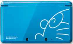 Nintendo 3DS XL collector Doraemon