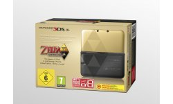 Nintendo 3DS XL collector the legend of zelda a link between worlds 1