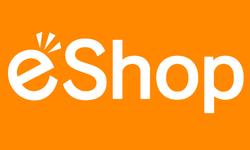 Nintendo eShop logo head