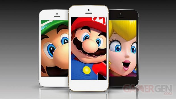 Nintendo mini jeux smartphones illustrationjpg