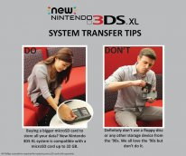 nintendo new 3ds xl faire ne pas faire do dont disquette