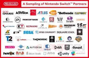 Nintendo Switch partenaires