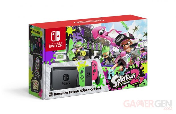 NIntendo Switch Splatoon 2 accessoire Pro Controler Console images (7)