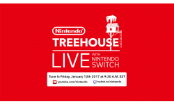 Nintendo Treehouse Live With Nintendo Switch head banner