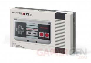 Nintendo XL NES edition collector limitee 11.09.2014