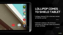 Nvidia Shield Tablet Lollipop android 5.0 GRID  (1)