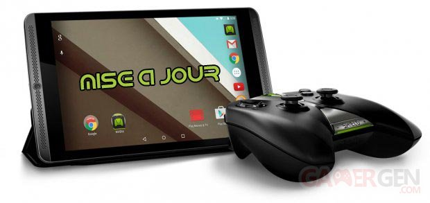 nvidia shield tablet mise à jour