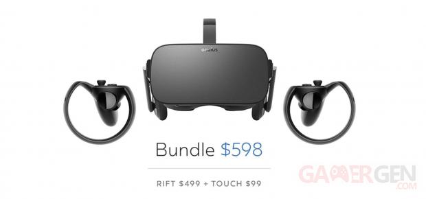 Oculus Rift baisse de prix