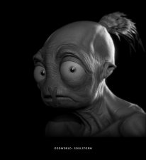 Oddworld Soulstorm Abe Face 2016