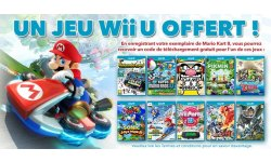 Offre Mario Kart Wii U.