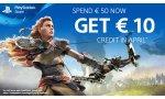 OFFRE - PlayStation Store: un bon d'achat offert pour 50 € dépensés et un jeu PS4 à petit prix