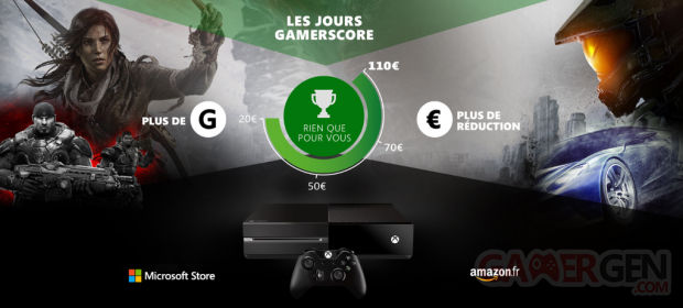 Offre Xbox One Gamerscore