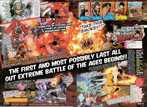 One Piece Burning Blood 17 10 2015 scan 1