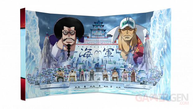 One Piece Burning Blood collector edition interieur boite