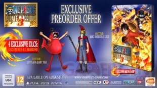 One Piece Pirate Warriors 3 edition collector bonus (2)
