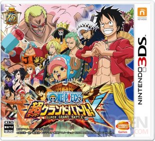 One Piece Super Grand Battle X 25 08 2014 jaquette