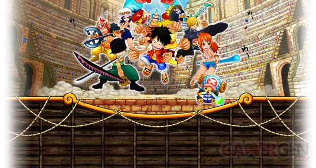 One Piece Super Grand Battle X 28 07 2014 wallpaper