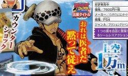 One Piece: World Seeker, Trafalgar Law en pleine action sur un scan pour l'Episode 3, The Unfinished Map