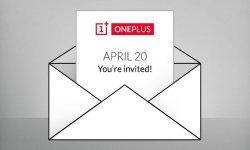 oneplus invitation presse 20 avril 1