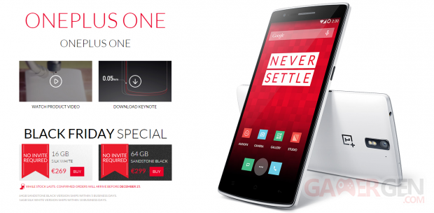 oneplus one black friday