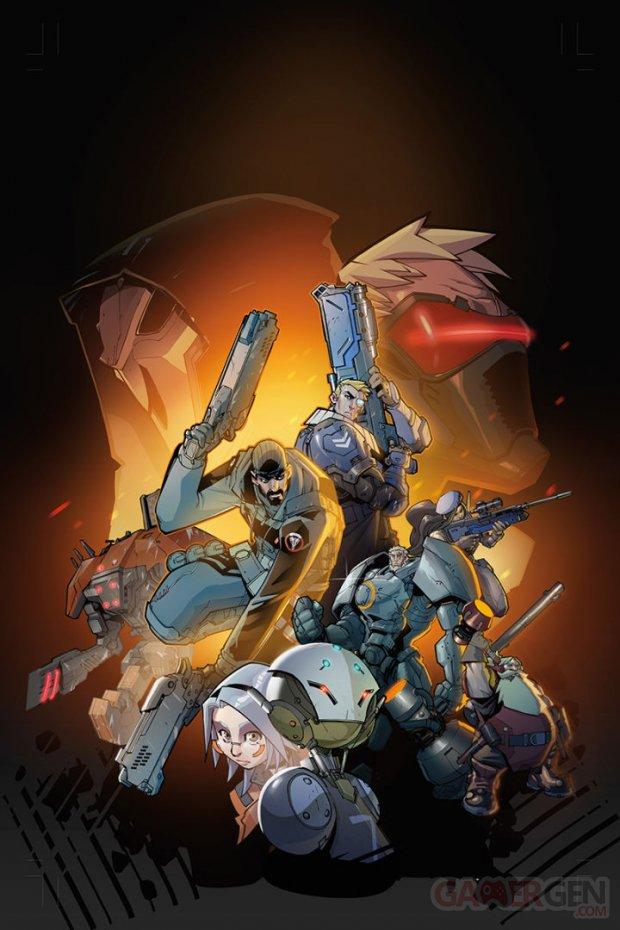 Overwatch Blizzard Dark Horse Comics 720x1080