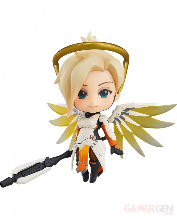 Overwatch Mercy Ange Figurine Nendoroid (9)