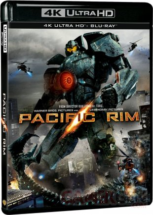 Pacific Rim Blu ray UHD
