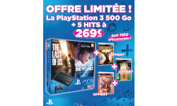 Pack PS3 jeux micromania offre limitee 29.11.2013.