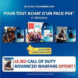Pack PS4 Auchan bon plan (1)