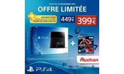 Pack PS4 Auchan bon plan (2)